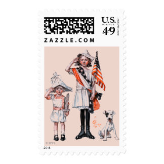 Fourth of July Stamp