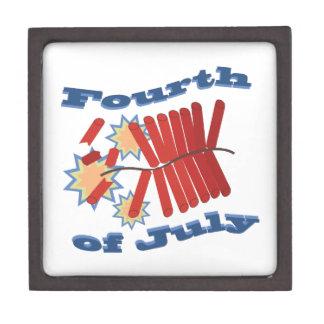 Fourth of July Premium Jewelry Box