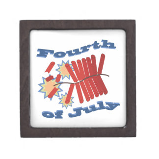Fourth of July Premium Jewelry Boxes