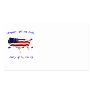 Fourth of July products Business Card
