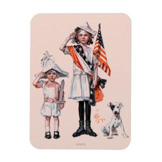 Fourth of July Rectangular Photo Magnet