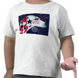 Fourth of July Star Spangled Dalmatian Shirt