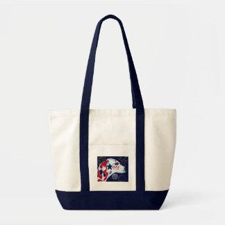 Fourth of July Star Spangled Dalmatian Tote Bag