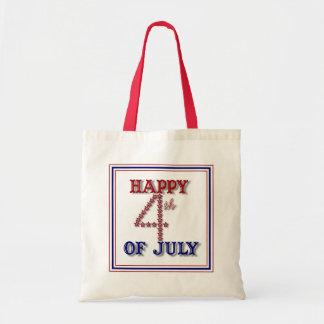 Fourth Of July Stars Patriotic Tote Bag