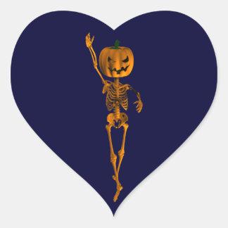 Fourth Position Pointe Ballet Heart Sticker