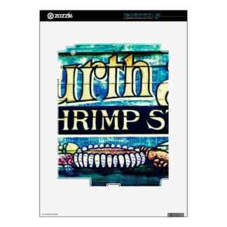Fourth Street Shrimp Store Decal For The iPad 2