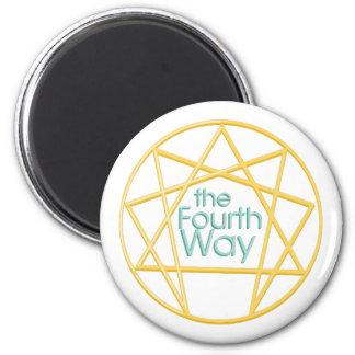 Fourth Way 2 Inch Round Magnet