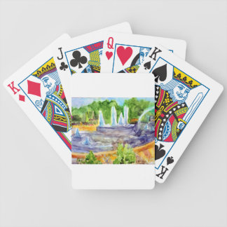 Foutain downtown Olathe.jpg Bicycle Playing Cards