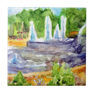 Foutain downtown Olathe.jpg Ceramic Tile