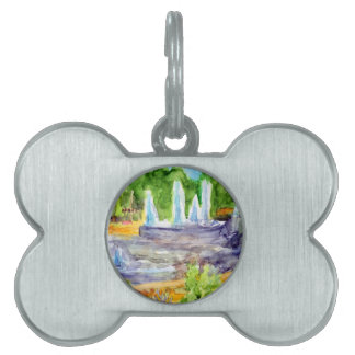 Foutain downtown Olathe.jpg Pet ID Tag