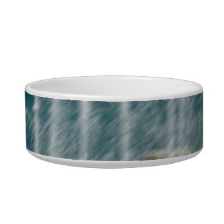 Foutain river sky water coral sketch blur pet food bowl