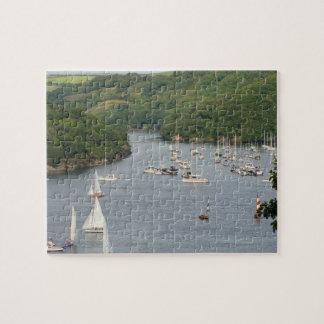 Fowey Harbour & Pont Creek Jigsaw Puzzle