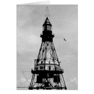 Fowey Rocks Lighthouse Card