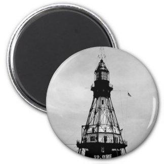 Fowey Rocks Lighthouse Magnet