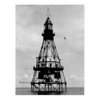 Fowey Rocks Lighthouse Postcard