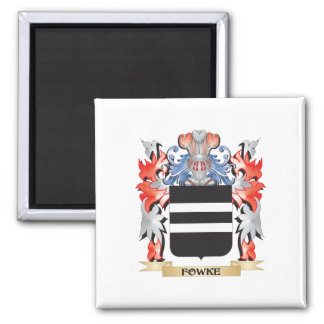 Fowke Coat of Arms - Family Crest Magnet