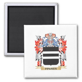 Fowkes Coat of Arms - Family Crest Magnet