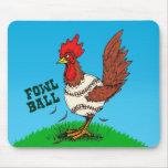 Fowl Ball Mouse Mats