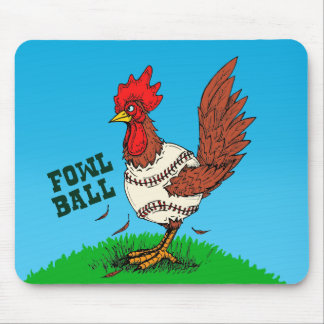 Fowl Ball Mouse Pad