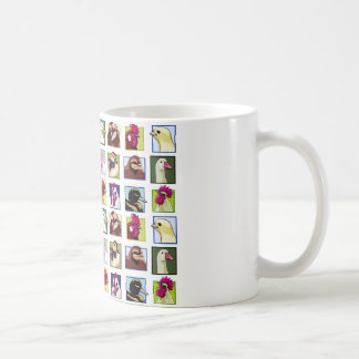 Fowl birds: Fowls (chicken, duck, goose, turkey) Coffee Mug