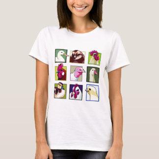 Fowl birds: Fowls (chicken, duck, goose, turkey) T-Shirt