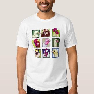 Fowl birds: Fowls (chicken, duck, goose, turkey) T-shirts