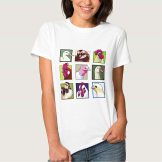 Fowl birds: Fowls (chicken, duck, goose, turkey) Tee Shirt
