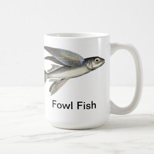 Fowl Fish - Flying Fish Mug