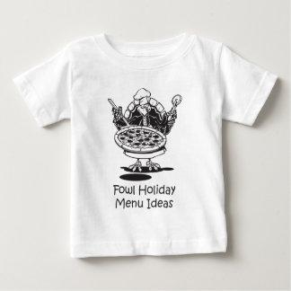 Fowl Holiday Menu Idea - Pizza Baby T-Shirt