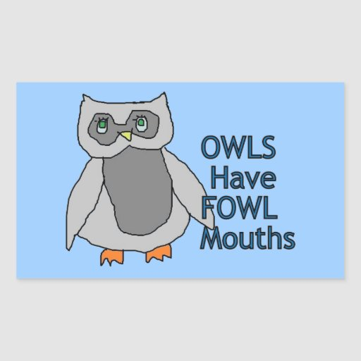 Fowl Mouths Stickers