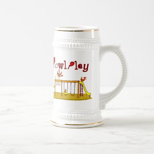 Fowl Play 18 Oz Beer Stein
