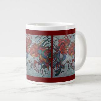 Fowl Play Large Coffee Mug