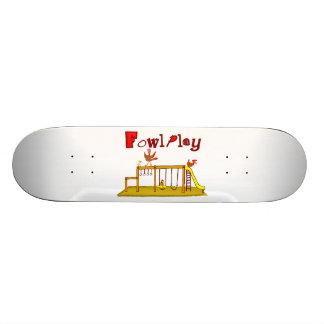 Fowl Play Skateboard Deck