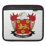 Fowle Family Crest iPad Sleeves
