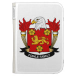 Fowle Family Crest Kindle 3G Cases