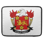 Fowle Family Crest MacBook Pro Sleeves