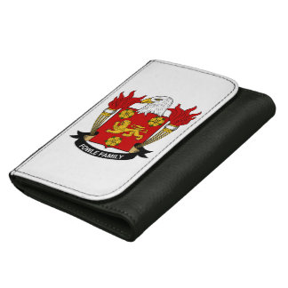 Fowle Family Crest Wallet For Women