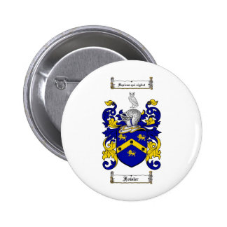 FOWLER FAMILY CREST -  FOWLER COAT OF ARMS PINBACK BUTTONS