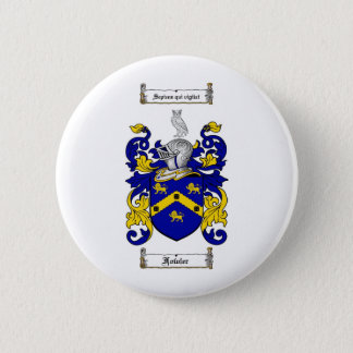 FOWLER FAMILY CREST -  FOWLER COAT OF ARMS PINBACK BUTTON