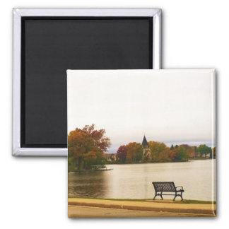 Fowler Lake in Autumn Magnet