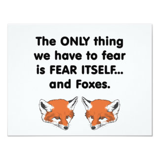 Fox 2 del miedo sí mismo comunicado personal