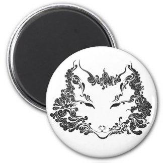 Fox 2 Inch Round Magnet