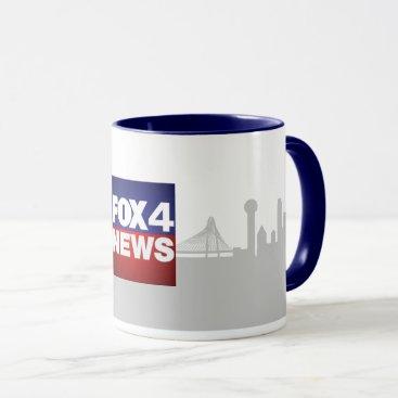 Coffee Themed FOX 4 NEWS Coffee Mug