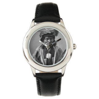 Fox-A-Poder-Tener-Ka largo. Tachana, Yankton Siux Relojes De Mano