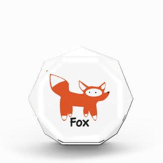 Fox Acrylic Award