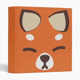 """Fox anaranjado de Kitsune Carpeta 1"""""""