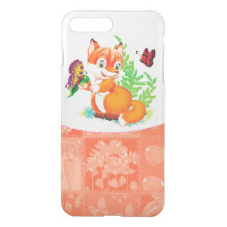 fox and butterfly iPhone 8 plus/7 plus case