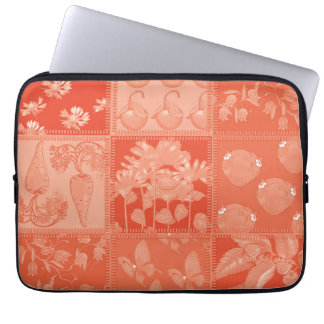 fox and butterfly laptop sleeve
