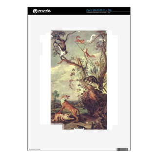 Fox and cat by Frans Snyders iPad 2 Skins