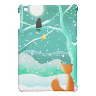 Fox and crow - ipad case
